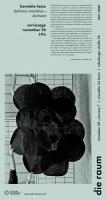 2011 0007 henriette heise: <em>darkness machines—dormant</em>, poster