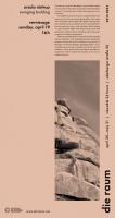 2015 0023 ursula nistrup: <em>swinging building</em>, poster