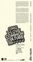 die raum 2020 0045: common culture: <em>omg i love commonculture !!!!♥♥♥♥</em>