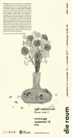 die raum 2021 0049: egill sæbjörnsson: <em>flower vase V</em>