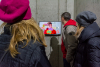 Vernissage with video installation and merchandising